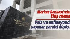 Merkez Bankası'ndan flaş faiz ve enflasyon açıklaması
