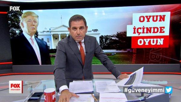 Fatih Portakal'ı Trump sinirlendirdi