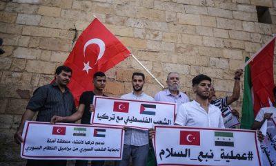 Filistin'de Mehmetçik'e destek eylemi