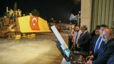 Harekata insansız zırhlı iş makineleri yardım edecek
