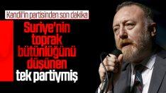 HDP, Suriye'nin toprak bütünlüğünü savunuyormuş
