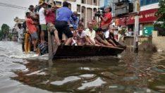 Hindistan'da sel felaketi: 55 ölü