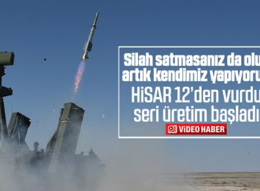 Hisar-A füze savunma sistemi seri üretime geçiyor