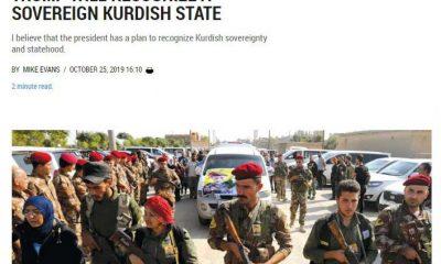 İsrail Trump'ın Kürdistan'ı desteklediğini iddia etti