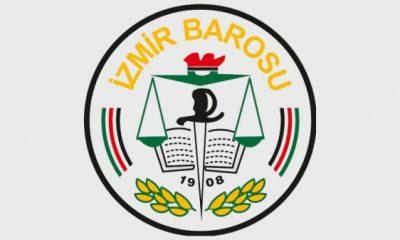 İzmir Barosu Barış Pınarı Harekatı'nı bitirin çağrısı yaptı