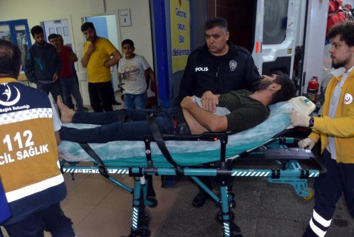 Kahramanmaraş'ta ablasını döven eniştesini bıçakladı