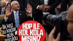 Kemal Kılıçdaroğlu'na HDP sorusu