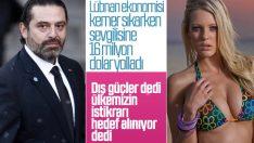 Lübnan başbakanından bikini modeline 16 milyon dolar