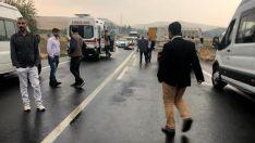 Mardin'de kamyon motosiklete çarptı: 1 ölü 1 yaralı