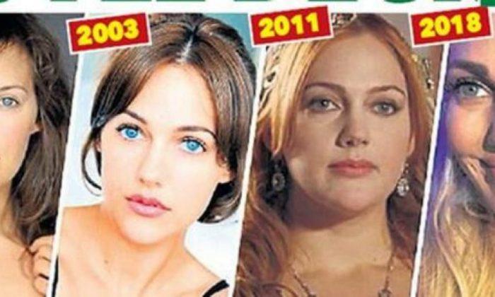 Meryem Üzerli'nin değişimi