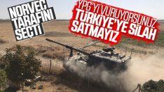 Norveç, Türkiye'ye yeni silah satışını durdurdu