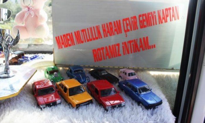 Osmaniye'de oyuncaklarla dolu olan otobüs