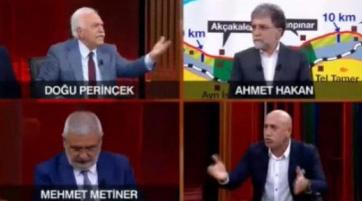 Perinçek, canlı yayında CHP'lilerle kavga etti