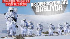 PKK'ya karşı kış operasyonları başlıyor