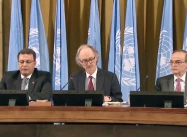 Suriye Anayasa Komitesi, BM'de ilk kez toplandı