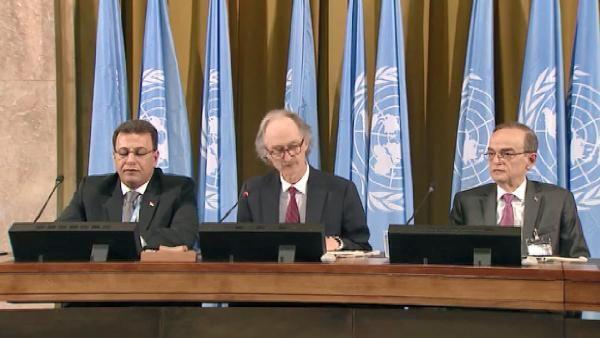 Suriye Anayasa Komitesi ilk kez toplandı -1
