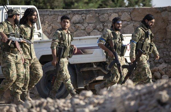 Suriye Milli Ordusu tünellere girdi
