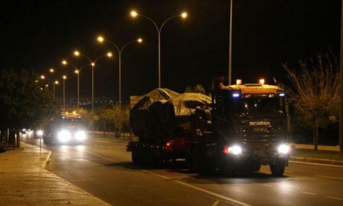 Suriye sınırına 'obüs' sevkiyatı yapıldı