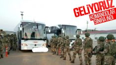 Suriye'ye operasyon öncesinde komandolar sınırda