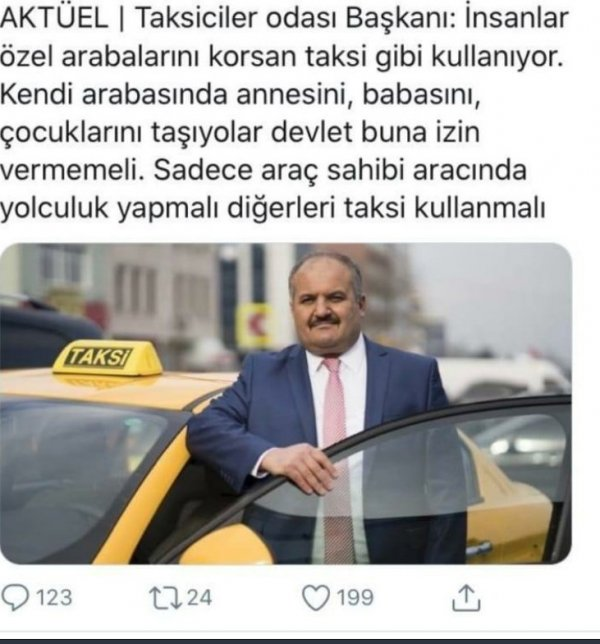 Taksiciler Esnaf Odası'ndan Mehmetçik'e destek