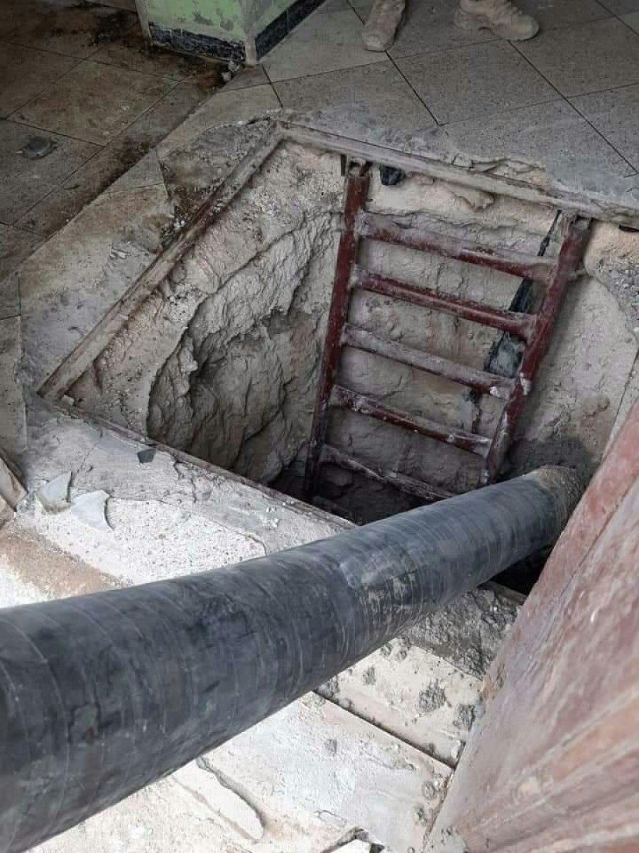 Tel Abyad'da teröristlerin tünellerine beton dökülüyor