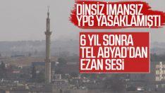 Tel Abyad'da yıllar sonra yeniden ezan sesi