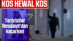 Teröristlerin Resulayn'dan kaçışı görüntülendi