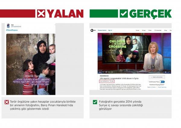 Terörle mücadelede sosyal medyadan kapaklar
