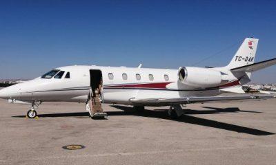 THK, VIP jetlerle taşımacılık yapıyor