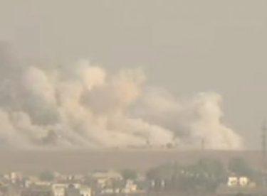 Türk jetleri Resulayn'ı vuruyor