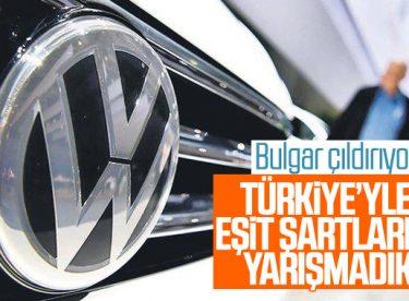Volkswagen'in Türkiye'yi seçmesi Bulgarları çıldırttı