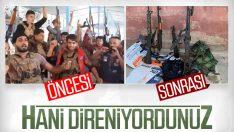 YPG/PKK'lı teröristler kaçtı