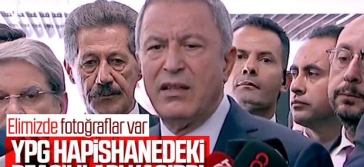 YPG'li teröristler, DEAŞ'lıları hapishaneden kaçırdı