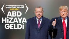 Erdoğan-Trump görüşmesi sonrası ABD geri adım attı!