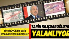 İşte CHP liderini yalanlayan tarihteki belgeler