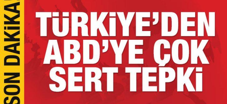 Türkiye'den ABD'ye çok sert 'Mazlum Kobani' tepkisi