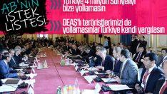 AB: DEAŞ'lı teröristler bize gelmesin