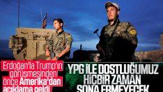 ABD: YPG ile ortaklığımız sürüyor