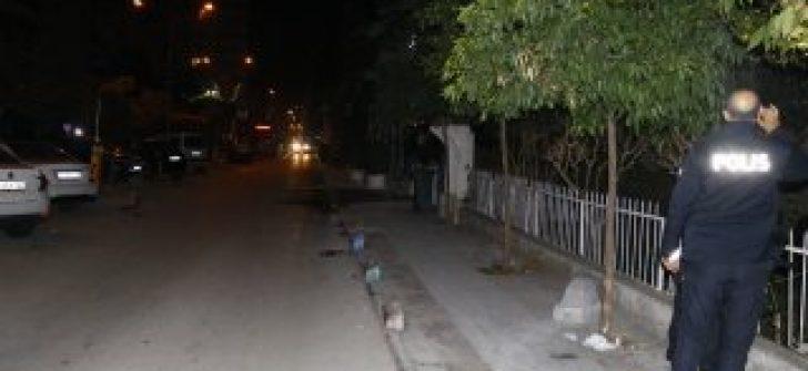 Adana'da bir caddede EYP patlatıldı