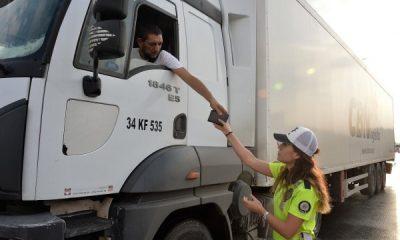 Adana'da hava destekli trafik denetimi