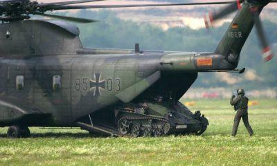Almanya'da askeri envanter görev yapamaz durumda