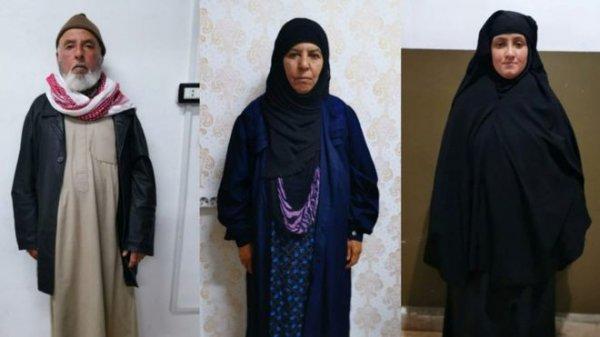 Bağdadi'nin ablası Suriye'de yakalandı