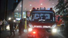 Bakırköy Eğitim ve Araştırma Hastanesi'nde yangın çıktı