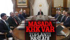 Beştepe'de Yüksek İstişare Kurulu toplantısı başladı