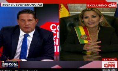 Bolivya'da Jeanine Anez kendisini başkan ilan etti