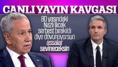 Bülent Arınç ile Nedim Şener'in canlı yayın tartışması