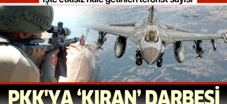 """PKK'ya """"kıran"""" darbesi"""