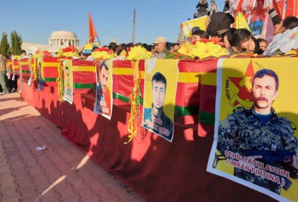 CHP'li vekilin desteklediği terörist Ceren Güneş gömüldü