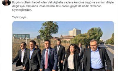 CHP'liler Veli Ağbaba'ya sahip çıktı