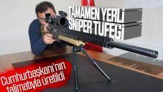 Cumhurbaşkanı Erdoğan istedi: Yerli sniper tüfeği hazır